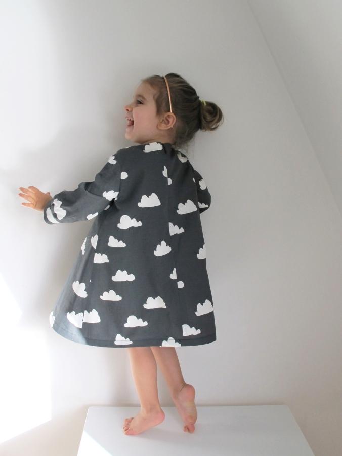 La Folie - Elena Dress - pattern by Coffee and Thread